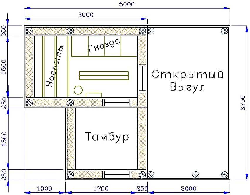 kuryatnik-na-dache-foto-video-chertezhi-instruktsiya-kak-sdelat-samomu-4