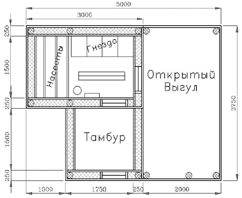 kak-postroit-zimnij-kuryatnik-foto-video-chertezhi-chem-obogret-uteplit-11
