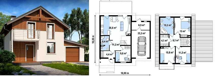 proekty-dvuhetazhnyh-domov-s-garazhom-foto-video-osobennosti-sovremennyh-proektov-3
