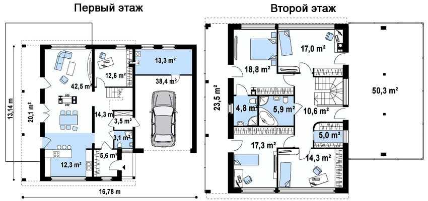 proekty-dvuhetazhnyh-domov-s-garazhom-foto-video-osobennosti-sovremennyh-proektov-25