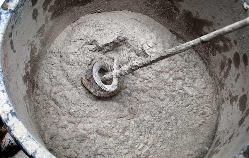 жидкое стекло с цементом для гидроизоляции колодца