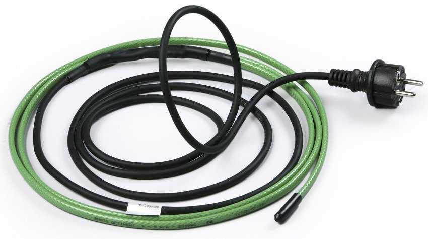 Греющий кабель.