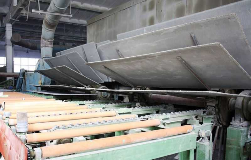 Производство ЦСП плит.