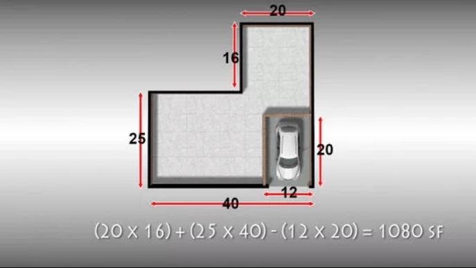 Найдите приблизительную площадь застройки.