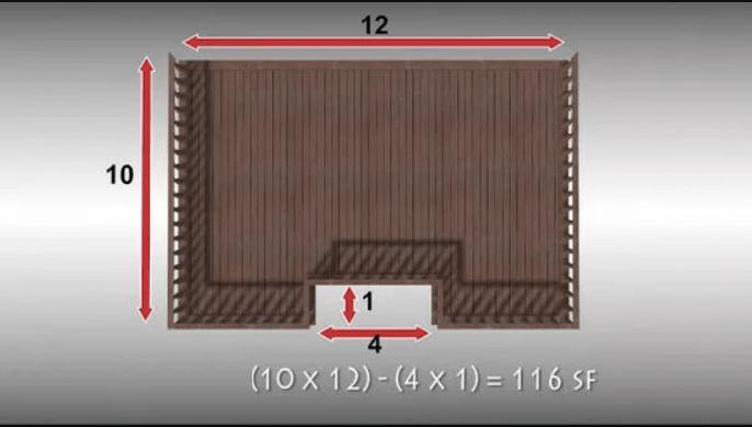 Найдите примерную площадь застройки.