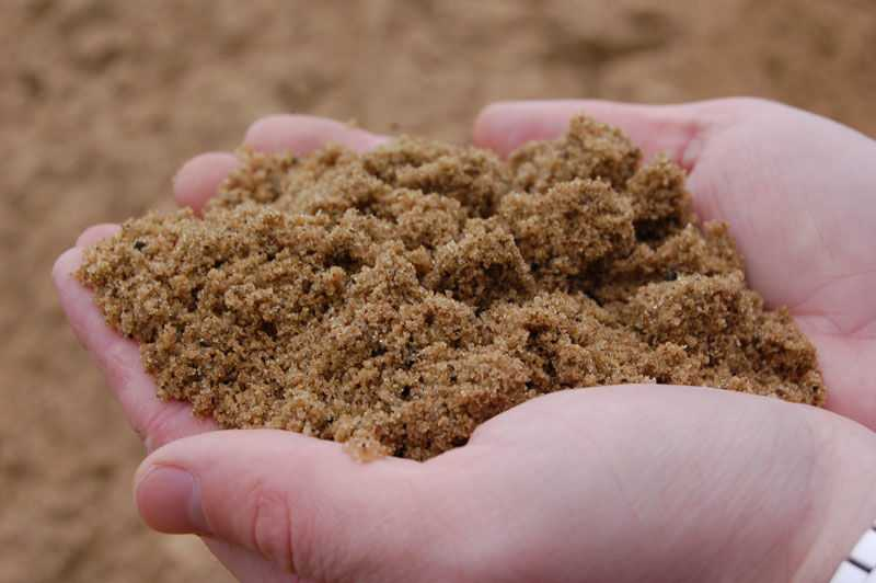 Обогащение – это улучшение зернового состава песка.