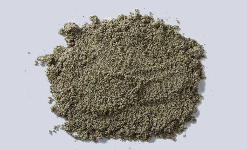 Эфельный песок обычно имеет мелкозернистую структуру.